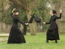 Emmeline und Christabel Pankhurst im Duell