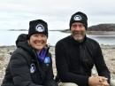Extremtaucher und Unterwasserfilmer Jill Heinerth und Mario Cyr.